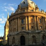 Evening light on the Radcliffe Camera