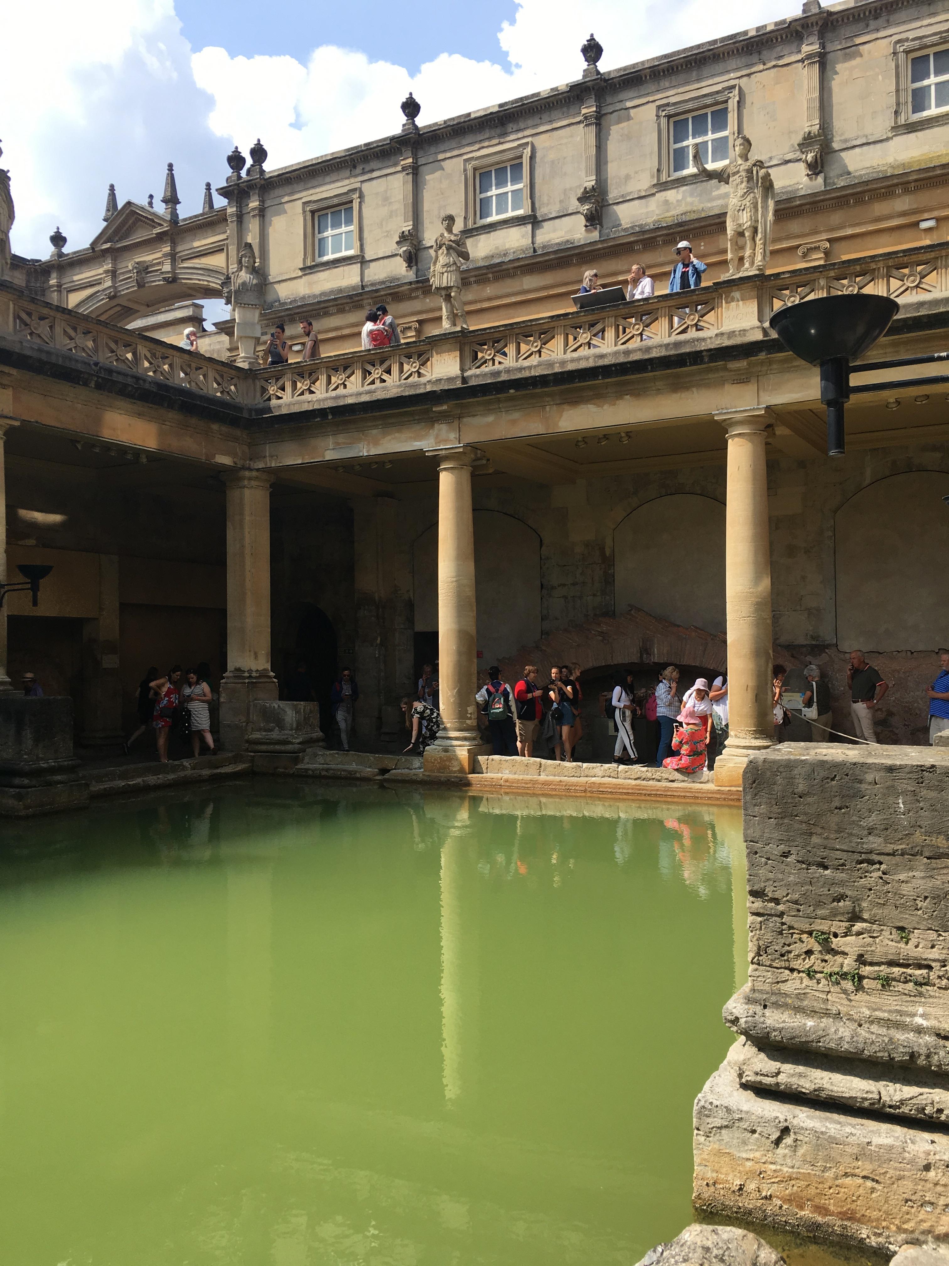 Roman bath image