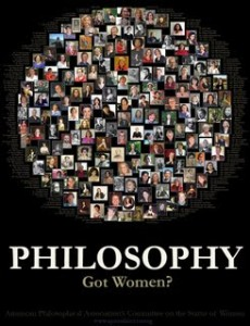 There are indeed women, fine thinkers, in philosophy if one looks.